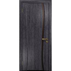 Ульяновская дверь Портелло-1 абрикос стекло триплекс бронзовый