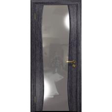Ульяновская дверь Портелло-2 абрикос стекло триплекс зеркало