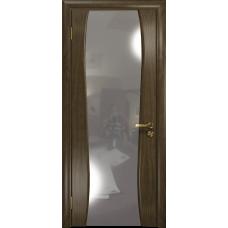 Ульяновская дверь Портелло-2 американский орех стекло триплекс зеркало