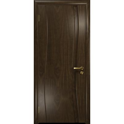 Ульяновская дверь Грация-1 американский орех тонированный глухая