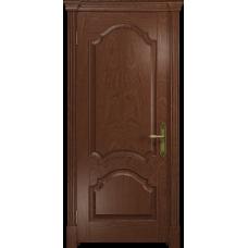 Ульяновская дверь Валенсия-1 красное дерево глухая