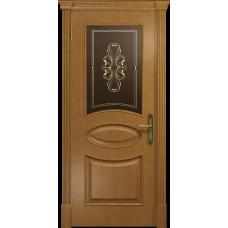 Ульяновская дверь Санремо анегри стекло бронзовое пескоструйное «вдохновение»