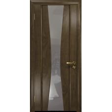 Ульяновская дверь Соната-2 американский орех стекло триплекс зеркало