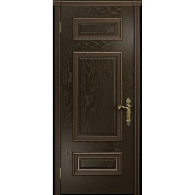 Ульяновская дверь Версаль-4 ясень венге глухая