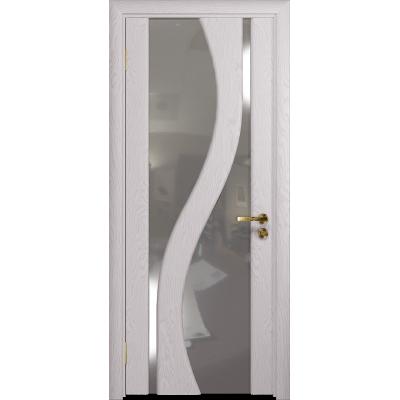 Ульяновская дверь Веста ясень белый стекло триплекс зеркало