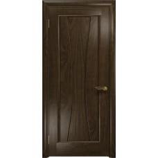 Ульяновская дверь Соната-1 американский орех тонированный глухая