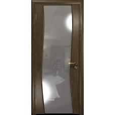 Ульяновская дверь Грация-3 американский орех стекло триплекс зеркало