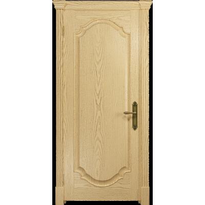 Ульяновская дверь Валенсия-2 ясень ваниль глухая