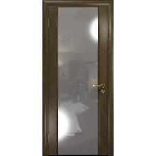 Ульяновская дверь Триумф-3 американский орех стекло триплекс зеркало
