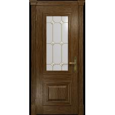 Ульяновская дверь Кардинал сукупира стекло витраж «адель»