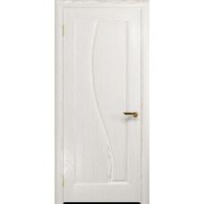 Ульяновская дверь Фрея-1 ясень белый золото глухая