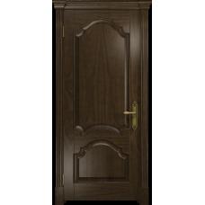 Ульяновская дверь Валенсия-1 американский орех тонированный глухая
