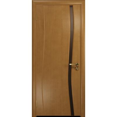 Ульяновская дверь Грация-1 анегри стекло триплекс бронзовый