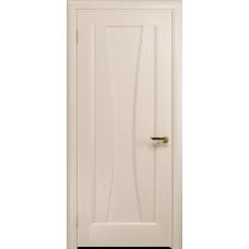 Ульяновская дверь Соната-1 дуб беленый глухая