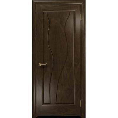 Ульяновская дверь Энжел американский орех тонированный глухая