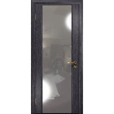 Ульяновская дверь Триумф-3 абрикос стекло триплекс зеркало