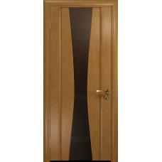 Ульяновская дверь Соната-2 анегри стекло триплекс бронзовый