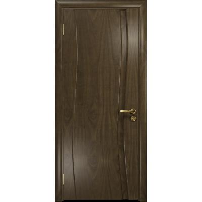 Ульяновская дверь Грация-1 американский орех глухая