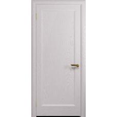 Ульяновская дверь Миланика-1 ясень белый глухая