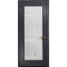 Ульяновская дверь Миланика-1 абрикос стекло белое пескоструйное «миланика-1»