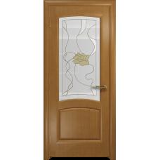 Ульяновская дверь Ровере анегри стекло витраж «соната»