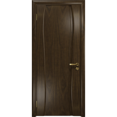 Ульяновская дверь Портелло-1 американский орех тонированный глухая