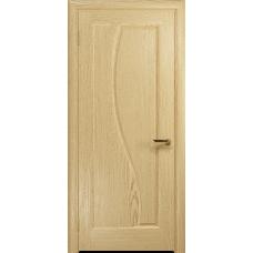 Ульяновская дверь Фрея-1 ясень ваниль глухая