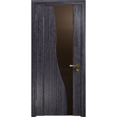 Ульяновская дверь Торелло абрикос стекло триплекс бронзовый