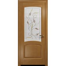 Ульяновская дверь Ровере анегри стекло витраж «ангел»