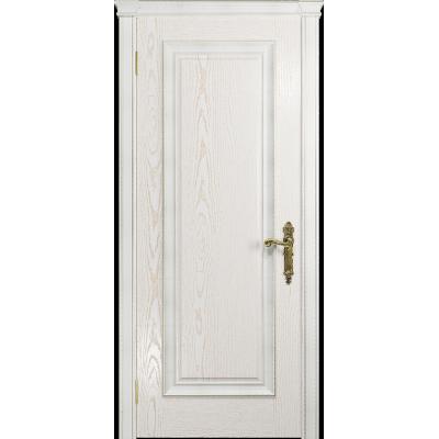 Ульяновская дверь Версаль-5 Декор ясень белый золото глухая