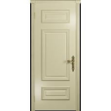 Ульяновская дверь Версаль-4 эмаль слоновая кость глухая