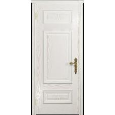 Ульяновская дверь Версаль-4 ясень белый золото глухая
