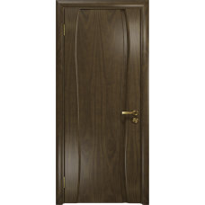 Ульяновская дверь Портелло-1 американский орех глухая