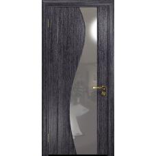 Ульяновская дверь Фрея-2 абрикос стекло триплекс зеркало