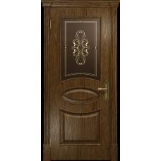 Ульяновская дверь Санремо сукупира стекло бронзовое пескоструйное «вдохновение»