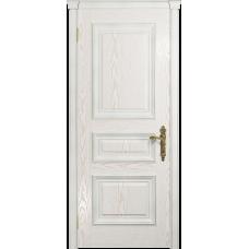 Ульяновская дверь Версаль-2 Декор ясень белый золото глухая