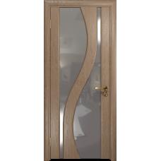 Ульяновская дверь Веста дуб стекло триплекс зеркало