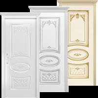 Крашенные двери Багет