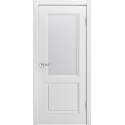 Ульяновская дверь Лацио-222 белая эмаль ДО