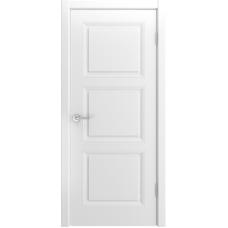 Ульяновская дверь Belini-333 белая эмаль ДГ