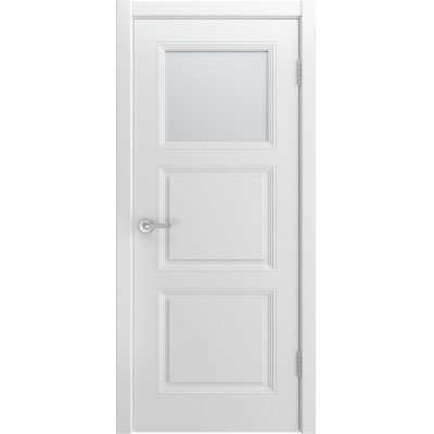 Ульяновская дверь Belini-333 белая эмаль ДО-1