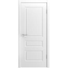 Ульяновская дверь Belini-555 белая эмаль ДГ