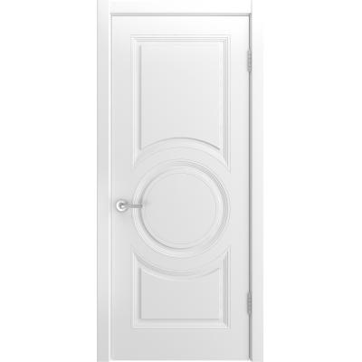 Ульяновская дверь Belini-888 белая эмаль ДГ