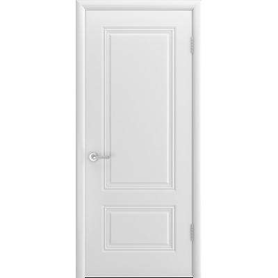 Ульяновская дверь Британия-1С белая эмаль ДГ