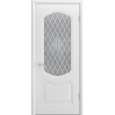 Ульяновская дверь Премьера-1С белая эмаль ДО