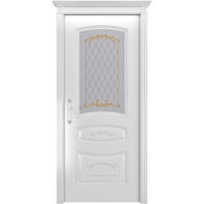 Ульяновская дверь Соната белая эмаль ДО
