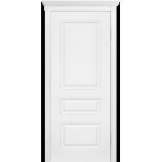 Ульяновская дверь Турин-4 белая эмаль ДГ
