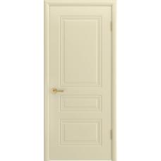 Ульяновская дверь Турин-С эмаль слоновая кость ДГ