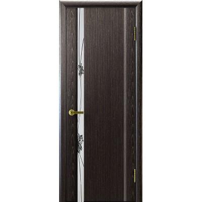 Ульяновская дверь Стэлла-1 чёрный абрикос