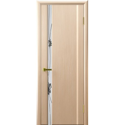 Ульяновская дверь Стэлла-1 белёный дуб